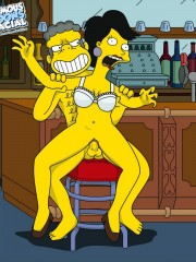 Moe from Simpsons Fucking Sexy Milf - 10