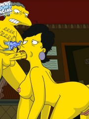 Moe from Simpsons Fucking Sexy Milf - 2