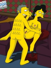 Moe from Simpsons Fucking Sexy Milf - 3