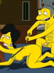 Moe from Simpsons Fucking Sexy Milf - 6