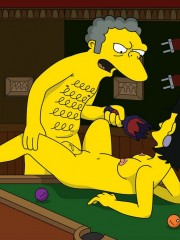 Moe from Simpsons Fucking Sexy Milf - 7