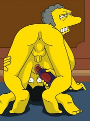 Moe from Simpsons Fucking Sexy Milf - 8