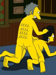 Moe from Simpsons Fucking Sexy Milf - 9