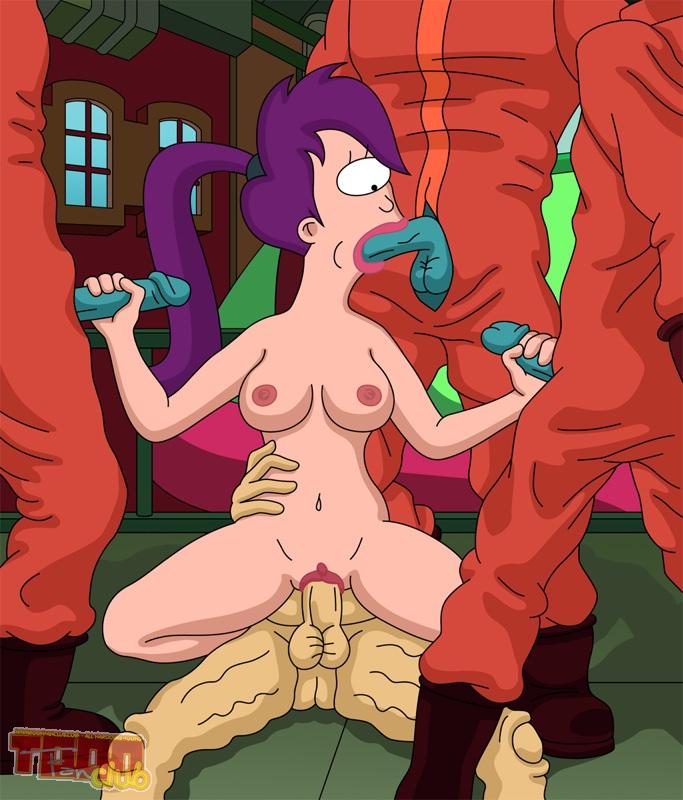 Crazy Futurama Hardcore Orgy – 10